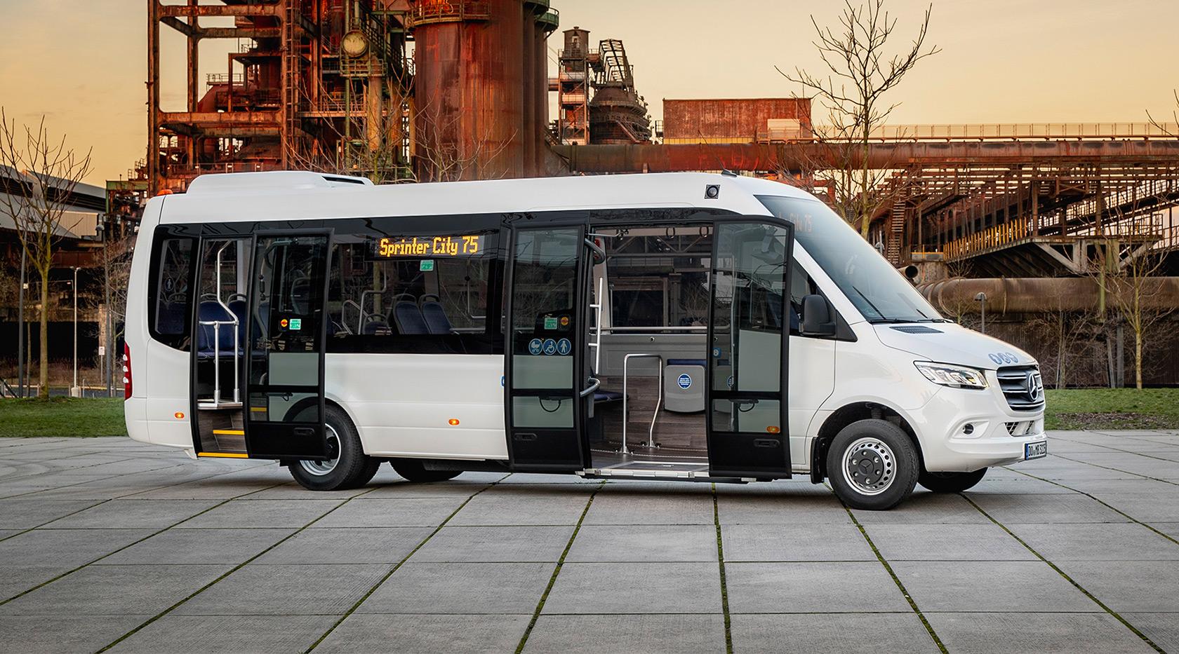 Attualità: Minibus of the Year 2019: Mercedes-Benz Sprinter City 75 – Mercedes-Benz Autobus
