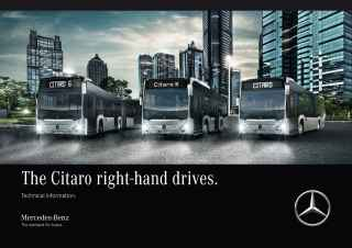 The Citaro right-hand drives