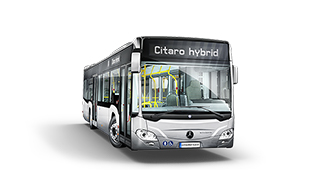 What's new:<br>Citaro hybrid