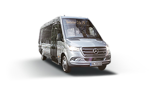 The new Sprinter <br>minibuses